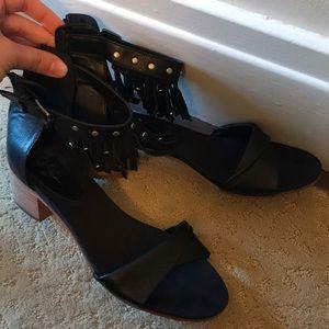 Rebels black sandals